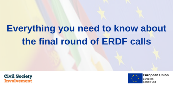 Everything you need to know about the final round of ERDF calls